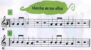 Flauta Marcha de los elfos